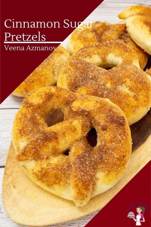 Pretzels image for cinnamon sugar pretzels