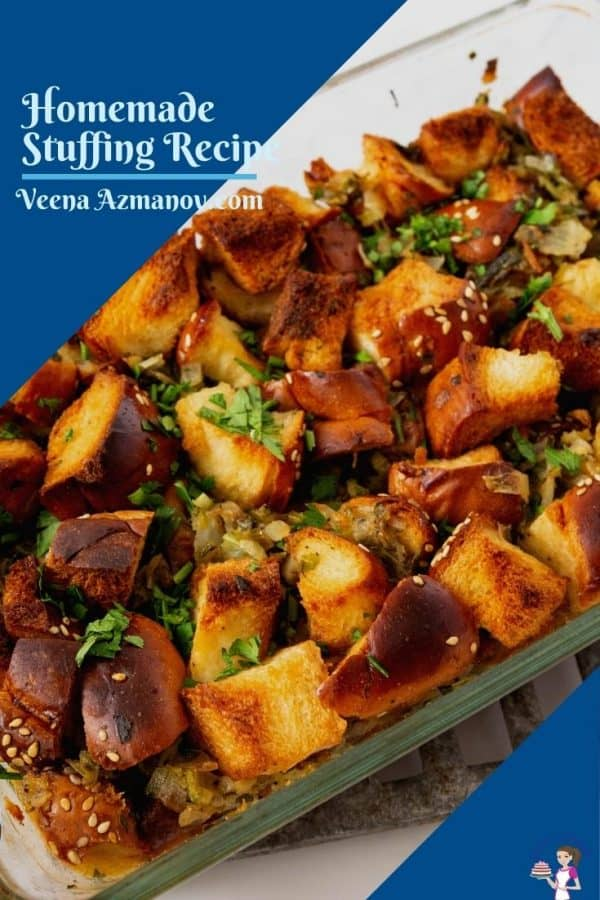 Stuffing recipe image for Pinterst