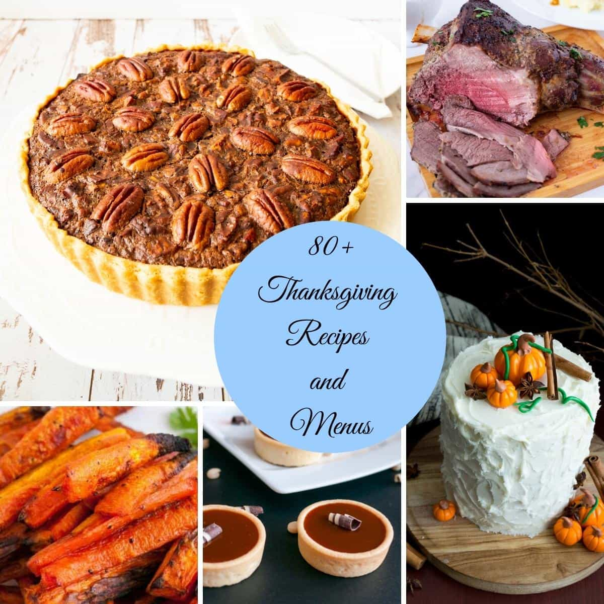A collection of thanksgiving recipes
