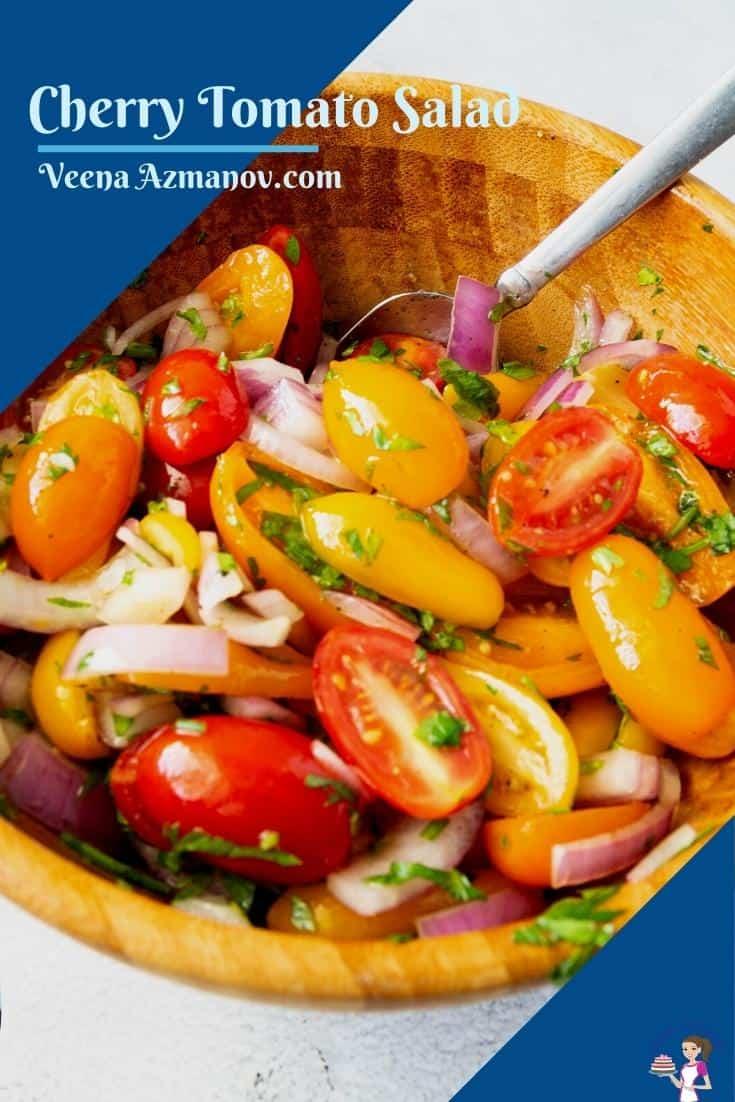 Pinterest image for salad