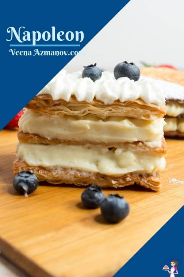 Pinterest image for Mille Feuille