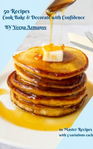 Cover of the Ebook with 50 recipes.