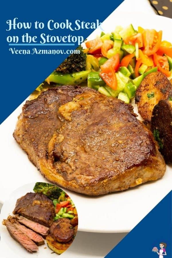 Pinterest image for steak