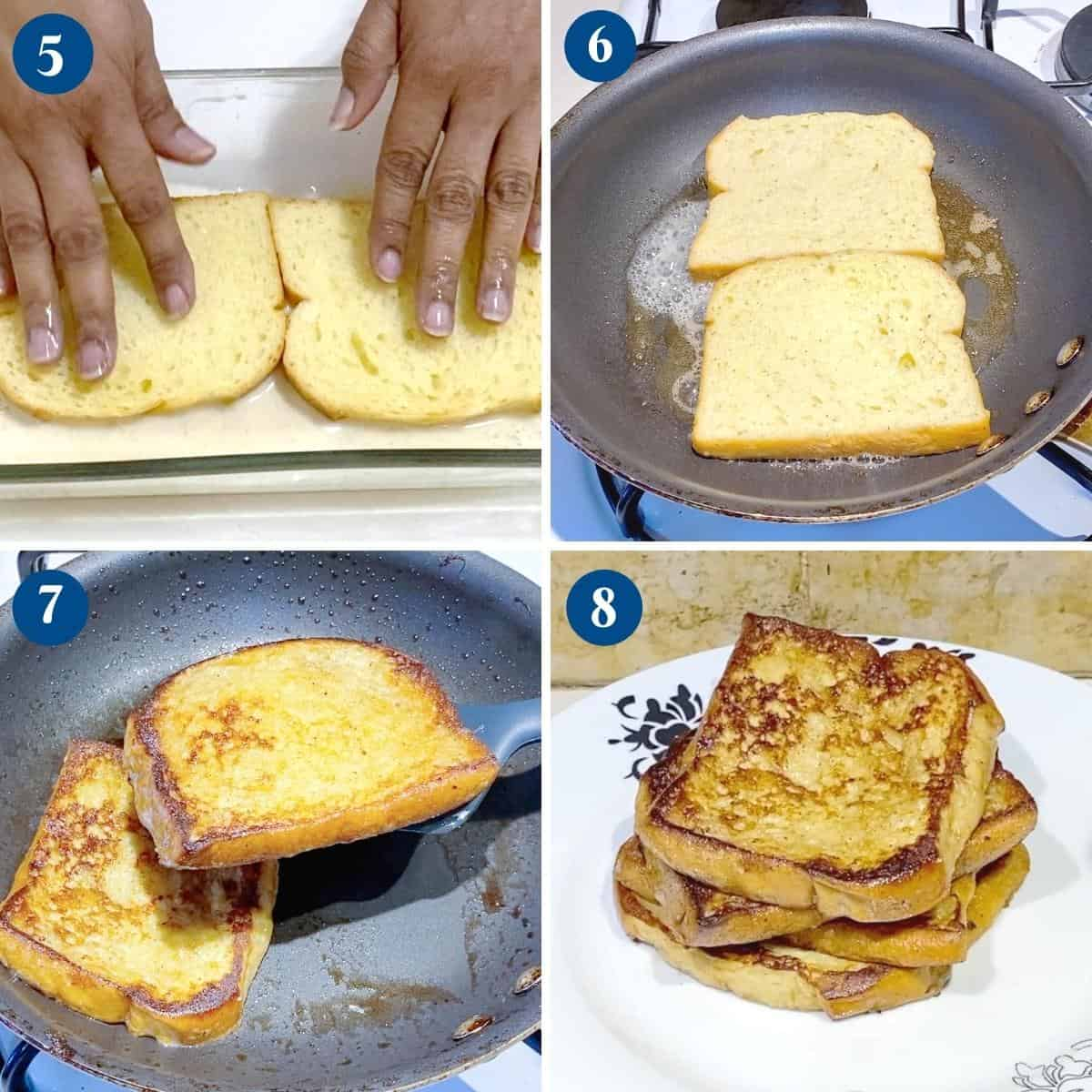 Progress Pictures Collage French Toast.