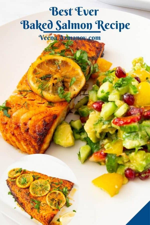 Pinterest image for Salmon recipes.