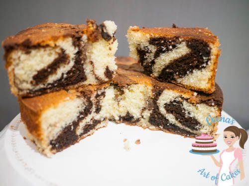 Marble Cake Recipe VAOC-50