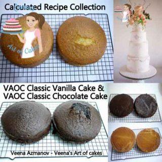 Classic Vanilla Chocolate Cake
